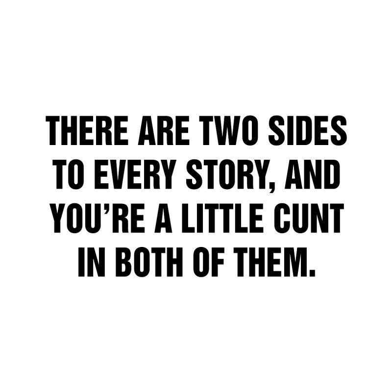 "SIDE EYE/""Both Sides Now"" (Black) by Josh Sabarra's Shop"