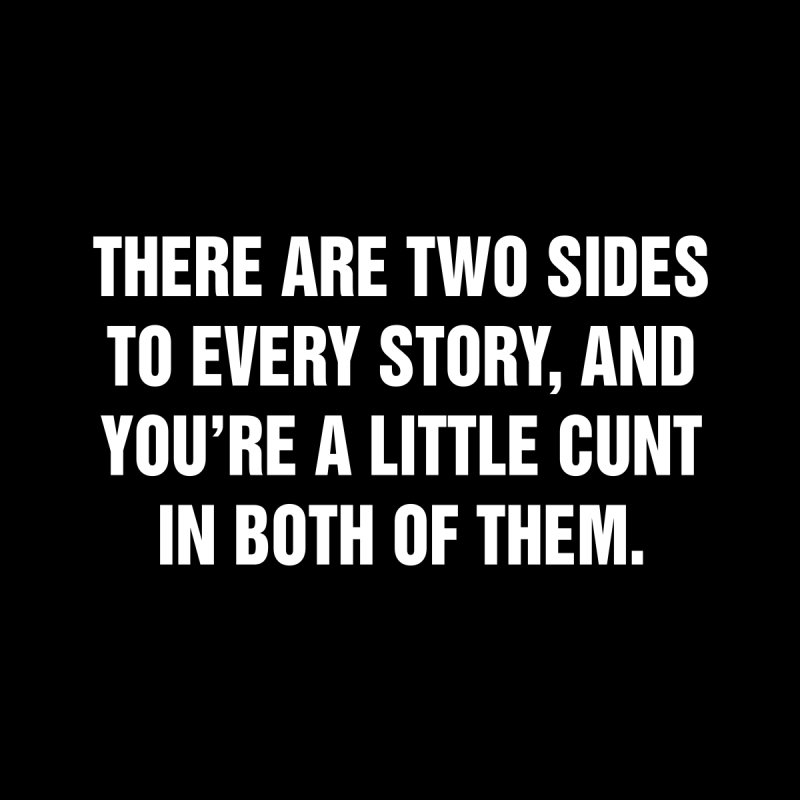 "SIDE EYE/""Both Sides Now"" (White) by Josh Sabarra's Shop"