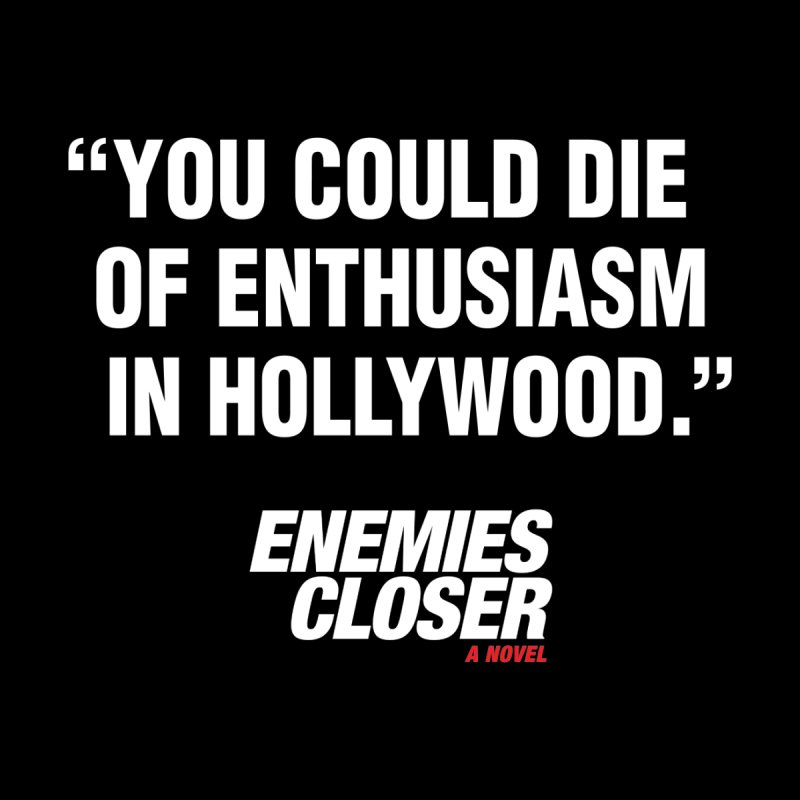 "ENEMIES CLOSER/""Die of Enthusiasm"" (White, 2) Men's T-Shirt by Josh Sabarra's Shop"