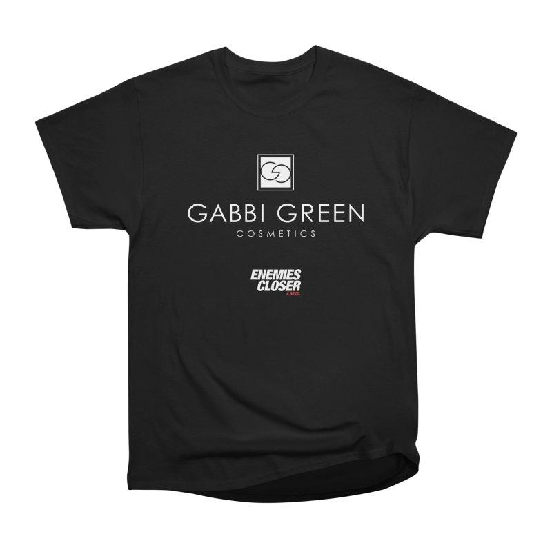 "ENEMIES CLOSER/""Gabbi Green"" (White) Women's Heavyweight Unisex T-Shirt by Josh Sabarra's Shop"
