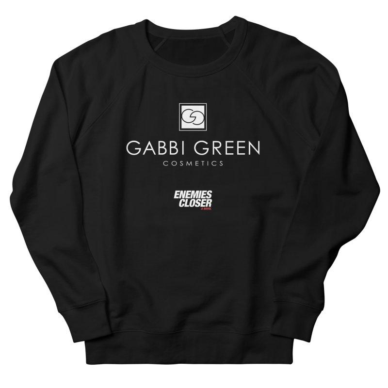 "ENEMIES CLOSER/""Gabbi Green"" (White) Men's Sweatshirt by Josh Sabarra's Shop"