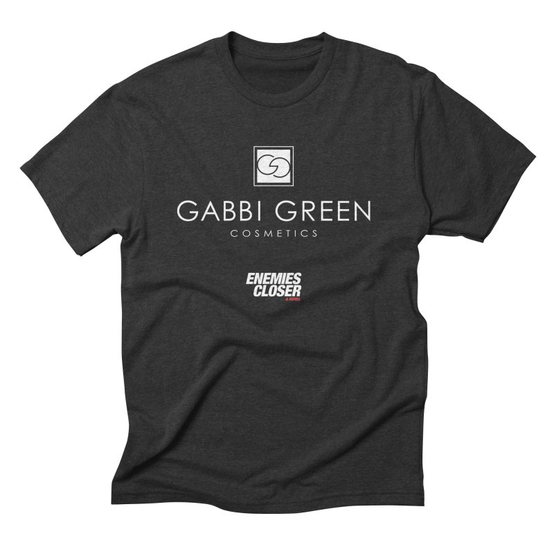 "ENEMIES CLOSER/""Gabbi Green"" (White) Men's Triblend T-Shirt by Josh Sabarra's Shop"