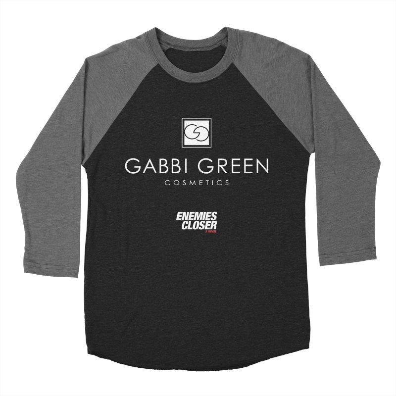 "ENEMIES CLOSER/""Gabbi Green"" (White) Men's Baseball Triblend T-Shirt by Josh Sabarra's Shop"