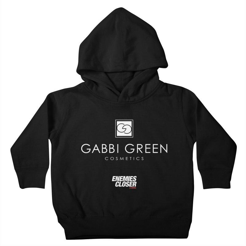 "ENEMIES CLOSER/""Gabbi Green"" (White) Kids Toddler Pullover Hoody by Josh Sabarra's Shop"