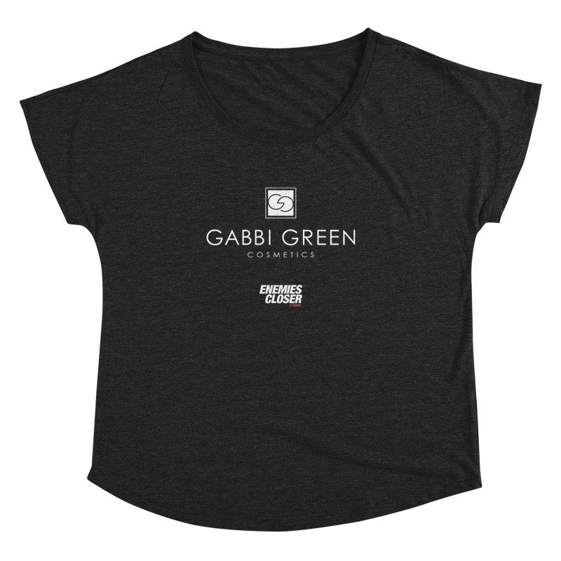 "ENEMIES CLOSER/""Gabbi Green"" (White) Women's Dolman by Josh Sabarra's Shop"