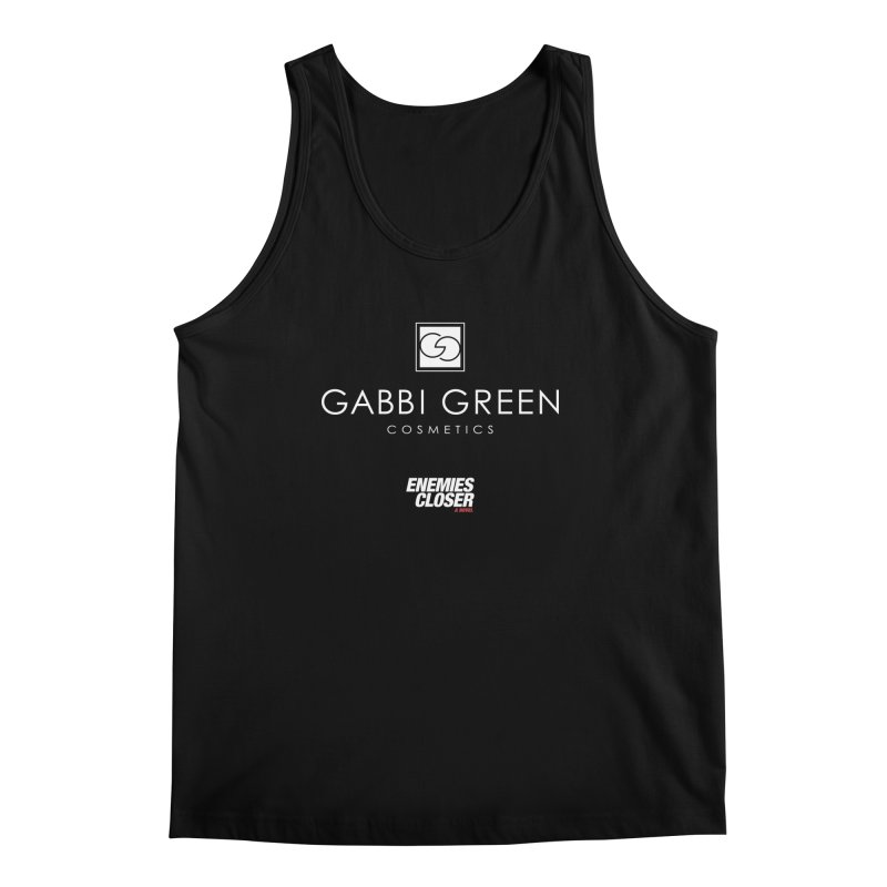 "ENEMIES CLOSER/""Gabbi Green"" (White) Men's Tank by Josh Sabarra's Shop"