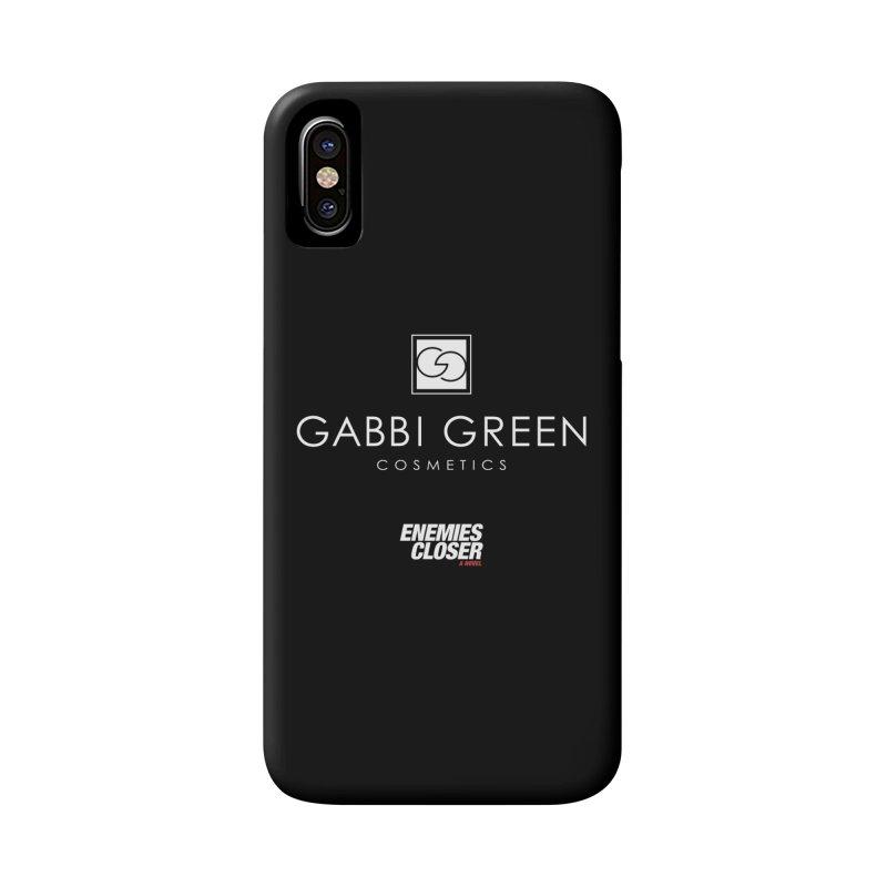 "ENEMIES CLOSER/""Gabbi Green"" (White) Accessories Phone Case by Josh Sabarra's Shop"