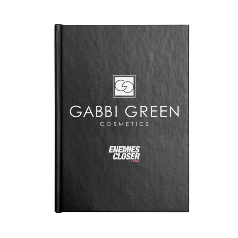"ENEMIES CLOSER/""Gabbi Green"" (White) Accessories Notebook by Josh Sabarra's Shop"