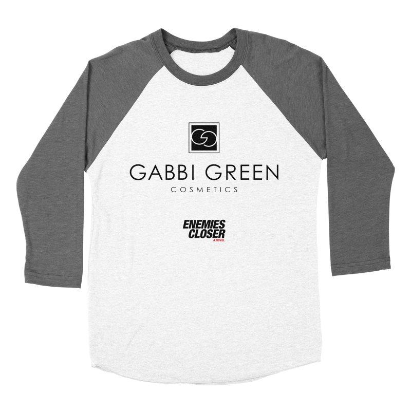 "ENEMIES CLOSER/""Gabbi Green"" (Black) Men's Baseball Triblend T-Shirt by Josh Sabarra's Shop"