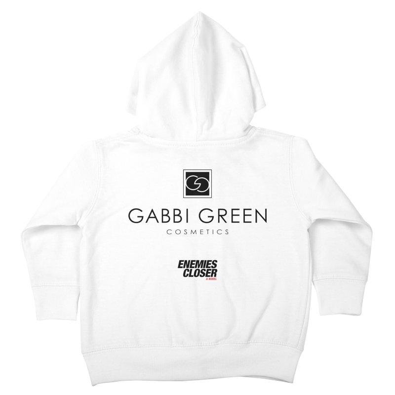 "ENEMIES CLOSER/""Gabbi Green"" (Black) Kids Toddler Zip-Up Hoody by Josh Sabarra's Shop"