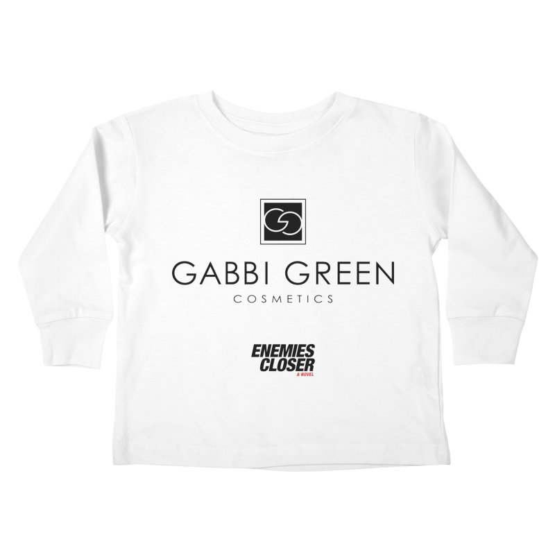"ENEMIES CLOSER/""Gabbi Green"" (Black) Kids Toddler Longsleeve T-Shirt by Josh Sabarra's Shop"