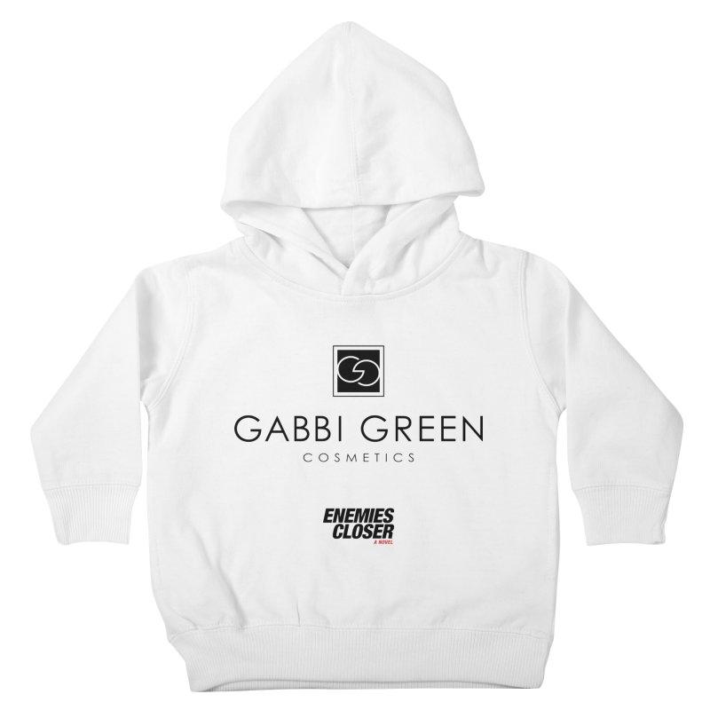 "ENEMIES CLOSER/""Gabbi Green"" (Black) Kids Toddler Pullover Hoody by Josh Sabarra's Shop"