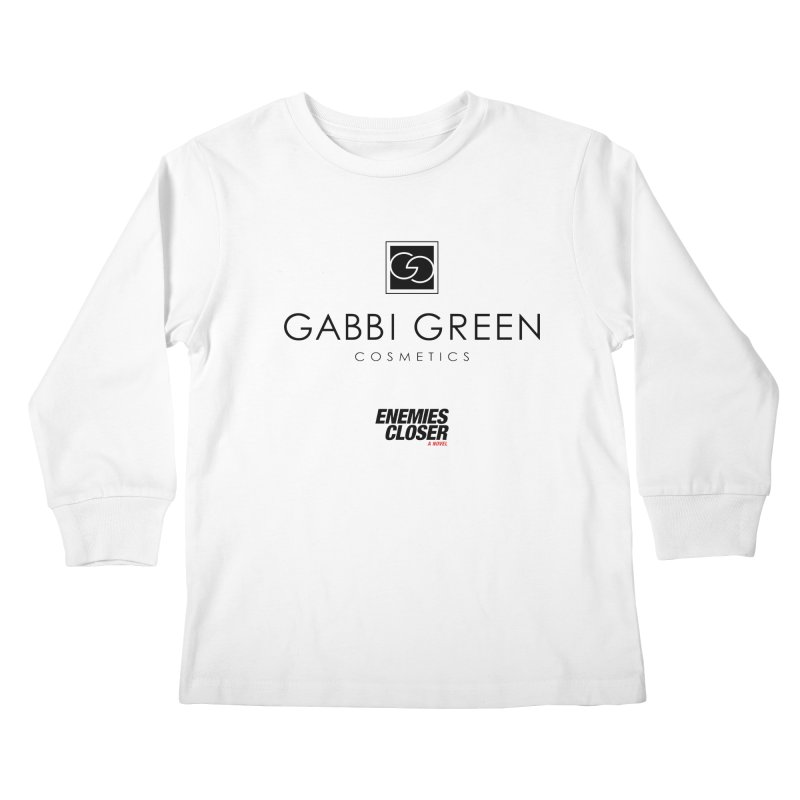 "ENEMIES CLOSER/""Gabbi Green"" (Black) Kids Longsleeve T-Shirt by Josh Sabarra's Shop"