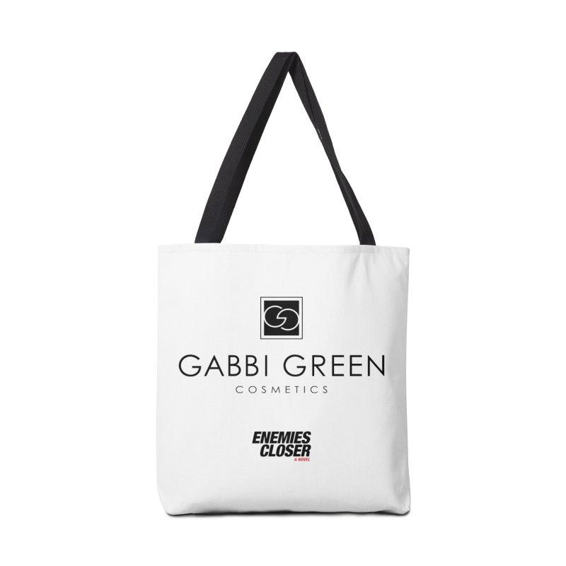 "ENEMIES CLOSER/""Gabbi Green"" (Black) Accessories Bag by Josh Sabarra's Shop"