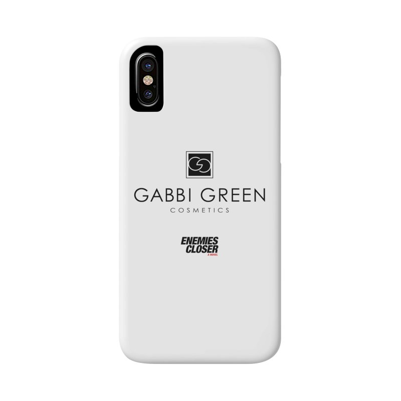 "ENEMIES CLOSER/""Gabbi Green"" (Black) Accessories Phone Case by Josh Sabarra's Shop"