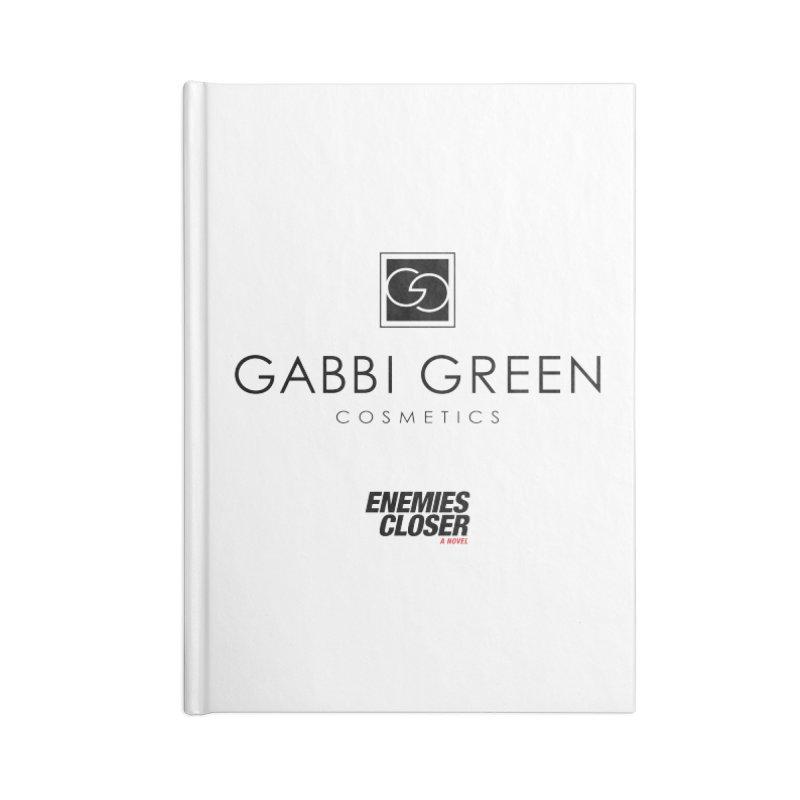 "ENEMIES CLOSER/""Gabbi Green"" (Black) Accessories Notebook by Josh Sabarra's Shop"