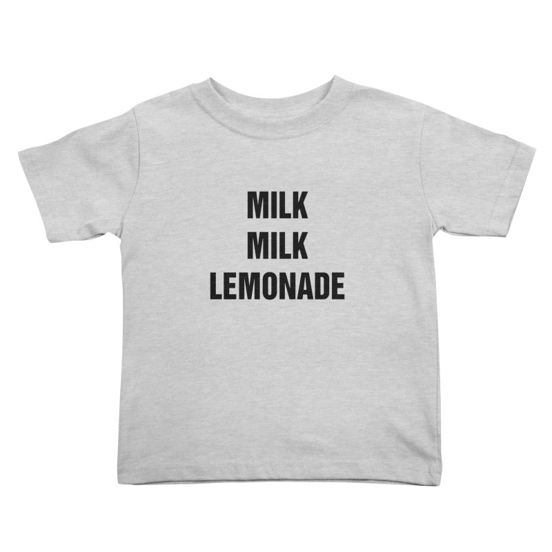 "SIDE EYE/""Milk, Milk"" (Black) Kids Toddler T-Shirt by Josh Sabarra's Shop"