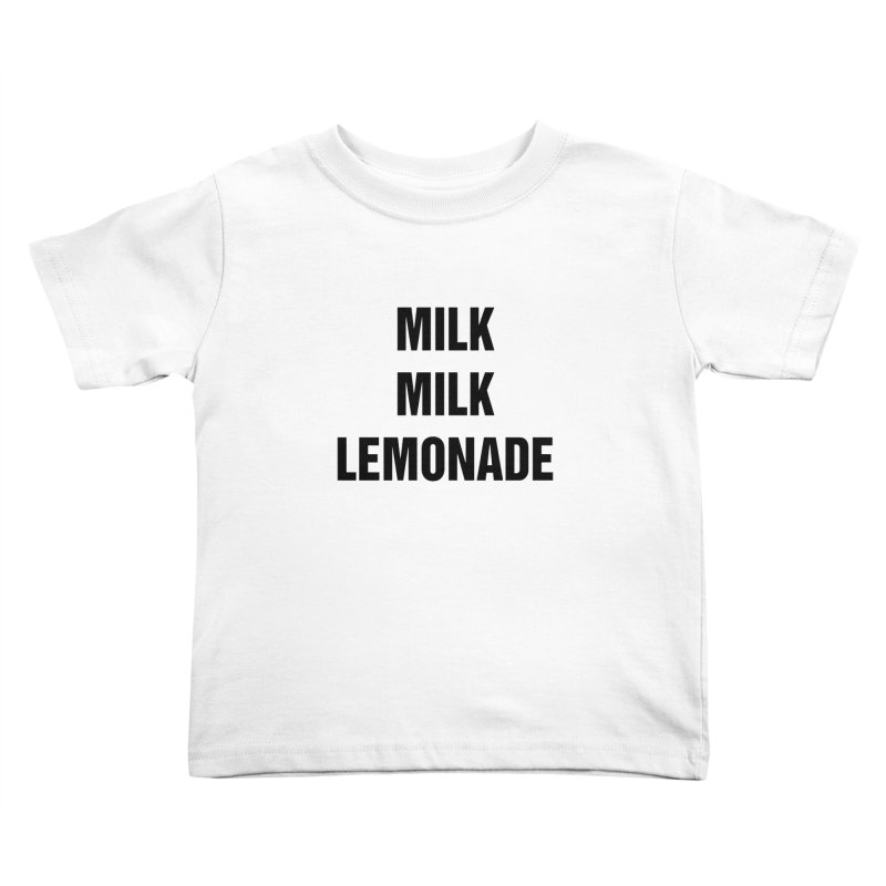 "SIDE EYE/""Milk, Milk"" (Black) Kids Toddler T-Shirt by Josh Sabarra's Shop"