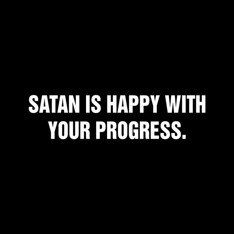"SIDE EYE/""Satan"" (White) by Josh Sabarra's Shop"