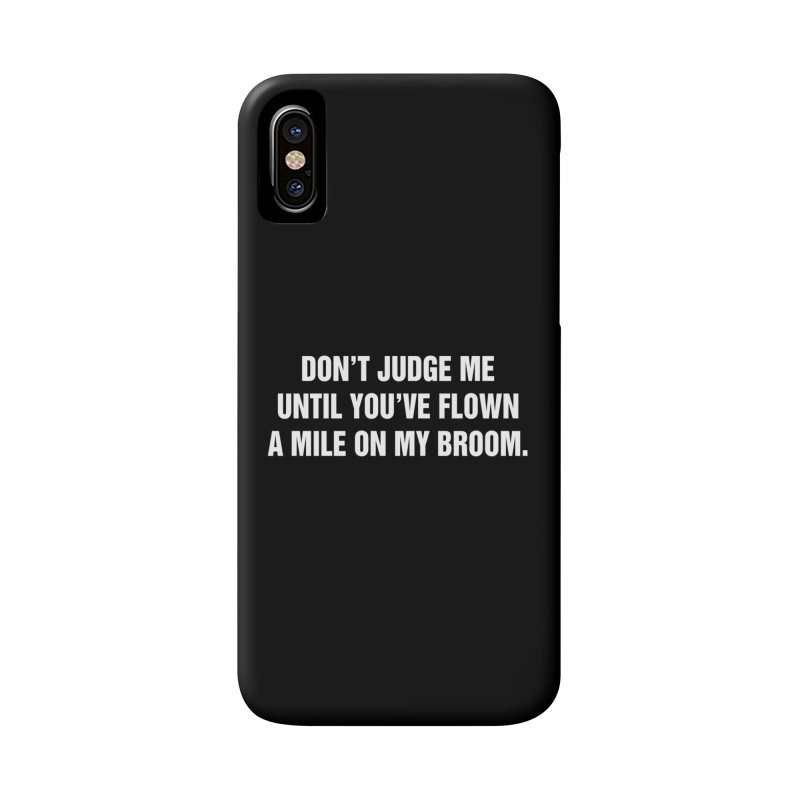 "SIDE EYE/""Broom"" (White) Accessories Phone Case by Josh Sabarra's Shop"