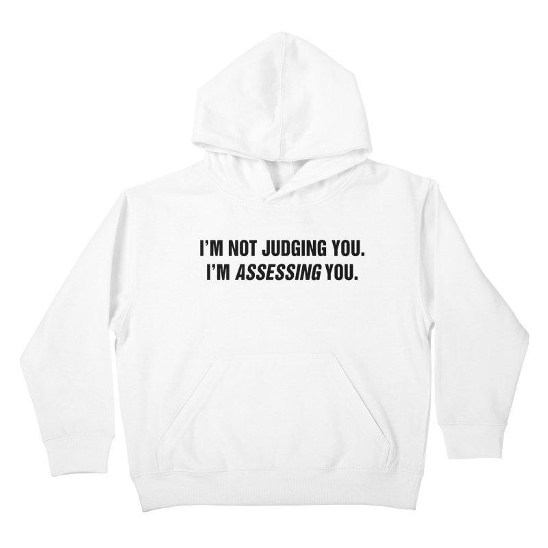 "SIDE EYE/""Judging"" (Black) Kids Pullover Hoody by Josh Sabarra's Shop"