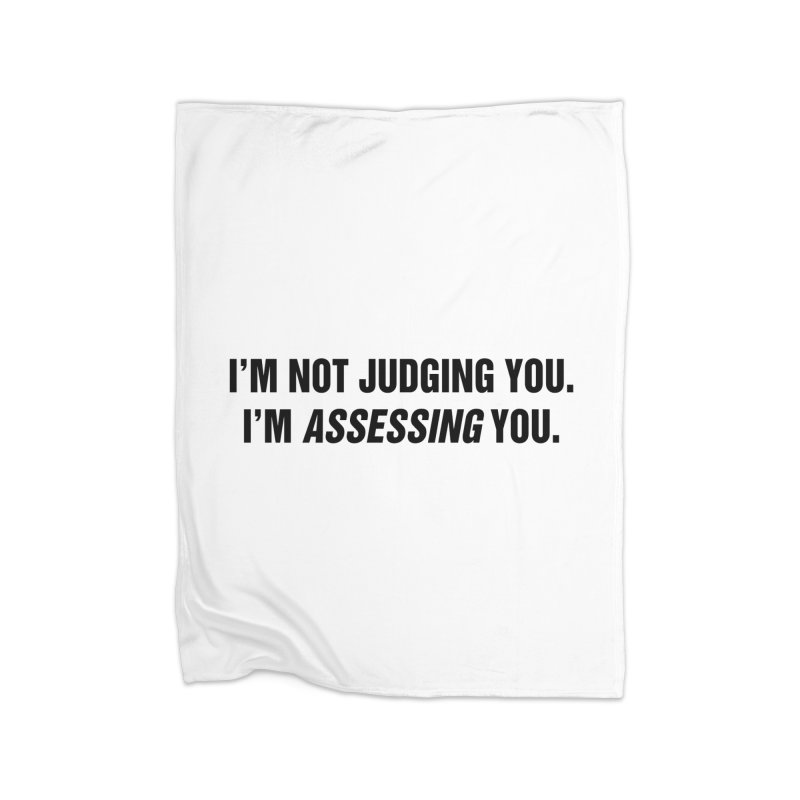 "SIDE EYE/""Judging"" (Black) Home Blanket by Josh Sabarra's Shop"