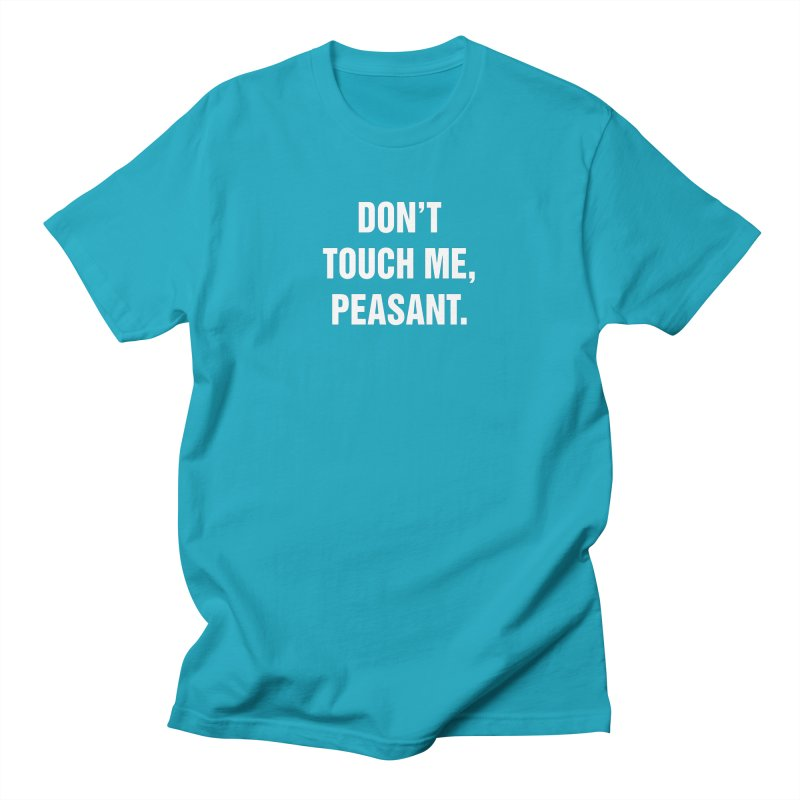 "SIDE EYE/""Peasant"" (White) Women's Regular Unisex T-Shirt by Josh Sabarra's Shop"
