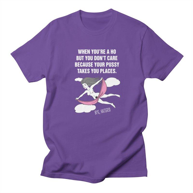 "SIDE EYE/""Going Places"" (White) Men's Regular T-Shirt by Josh Sabarra's Shop"