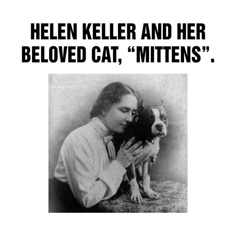 """SIDE EYE/""""Helen Keller's Cat"""" (Black) by Josh Sabarra's Shop"""