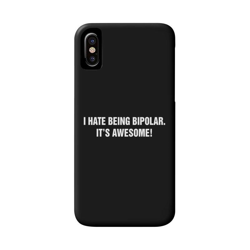 """SIDE EYE/""""Bipolar"""" (White) Accessories Phone Case by Josh Sabarra's Shop"""