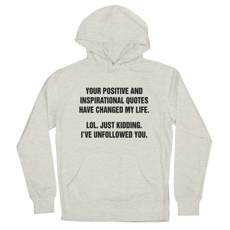 """SIDE EYE/""""Inspiration"""" (Black) Men's French Terry Pullover Hoody by Josh Sabarra's Shop"""