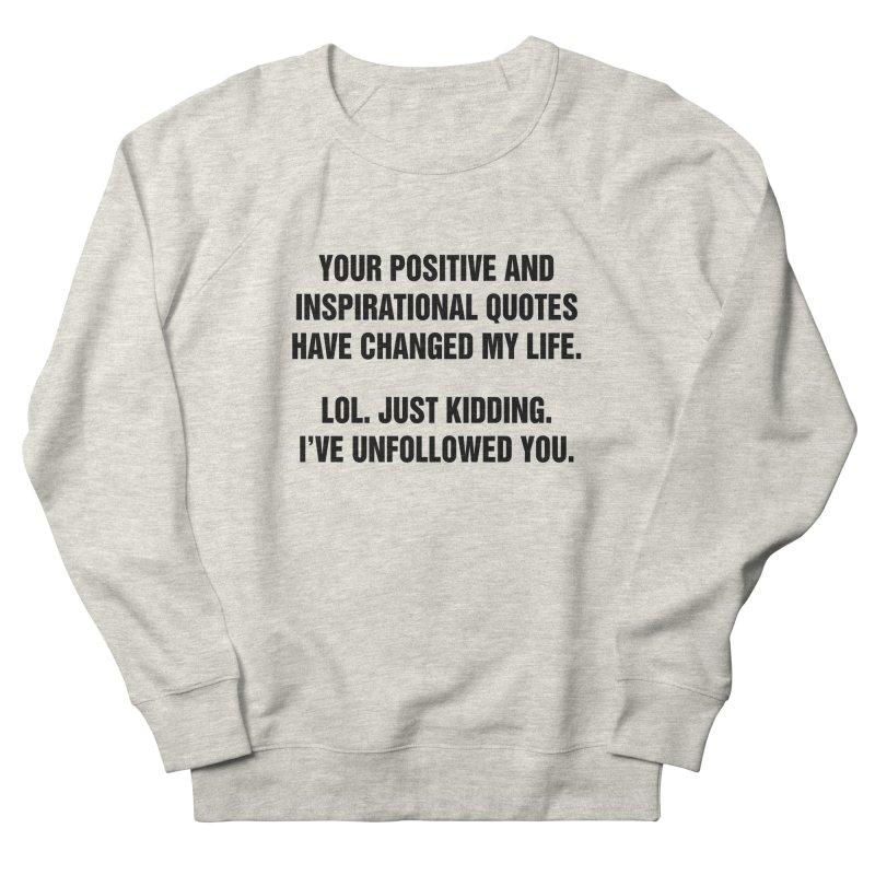 "SIDE EYE/""Inspiration"" (Black) Women's French Terry Sweatshirt by Josh Sabarra's Shop"