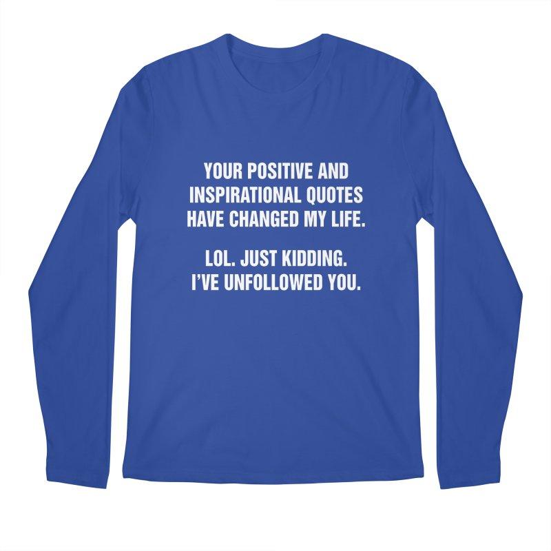 "SIDE EYE/""Inspiration"" (White) Men's Regular Longsleeve T-Shirt by Josh Sabarra's Shop"