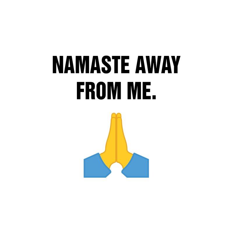 "SIDE EYE/""Namaste"" (Black) by Josh Sabarra's Shop"