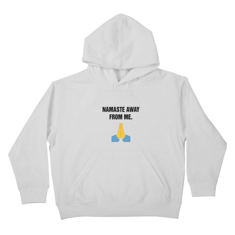 "SIDE EYE/""Namaste"" (Black) Kids Pullover Hoody by Josh Sabarra's Shop"