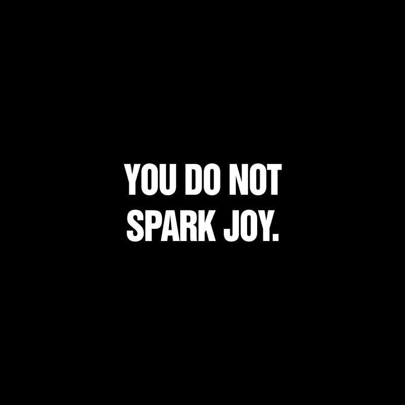"SIDE EYE/""Spark Joy"" (White) by Josh Sabarra's Shop"