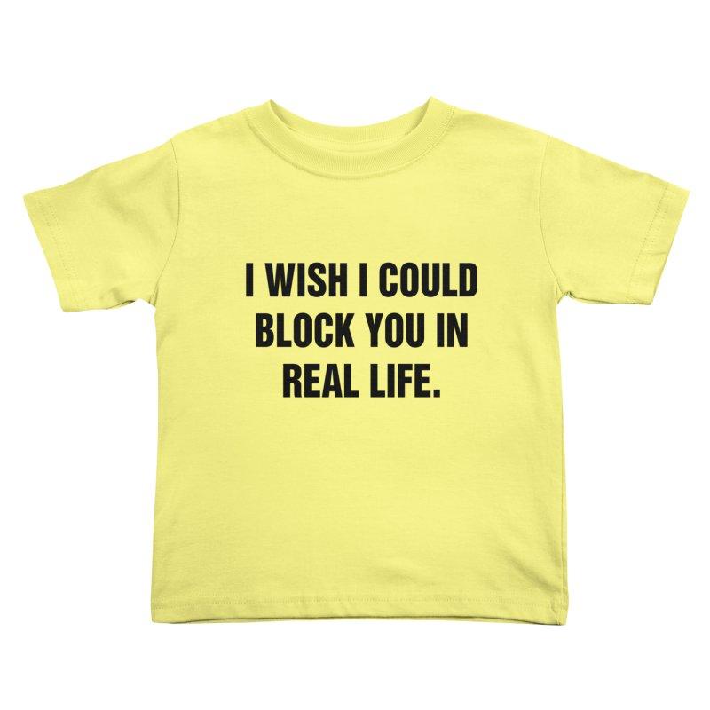 """SIDE EYE/""""Blocked"""" (Black) Kids Toddler T-Shirt by Josh Sabarra's Shop"""