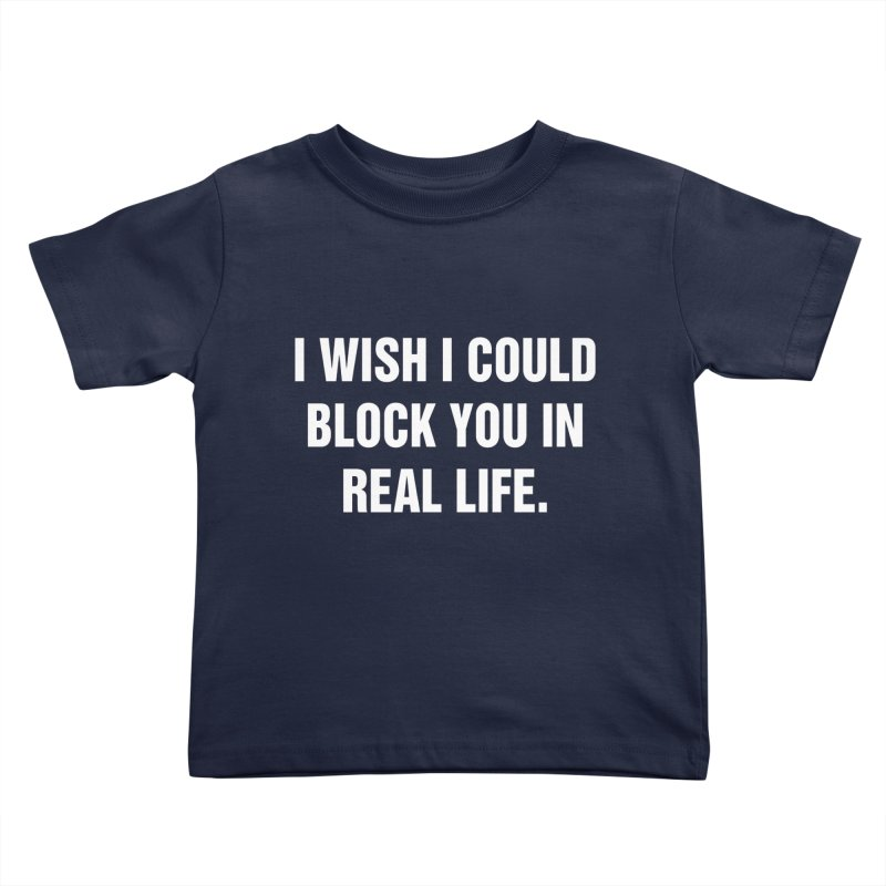 """SIDE EYE/""""Blocked"""" (White) Kids Toddler T-Shirt by Josh Sabarra's Shop"""