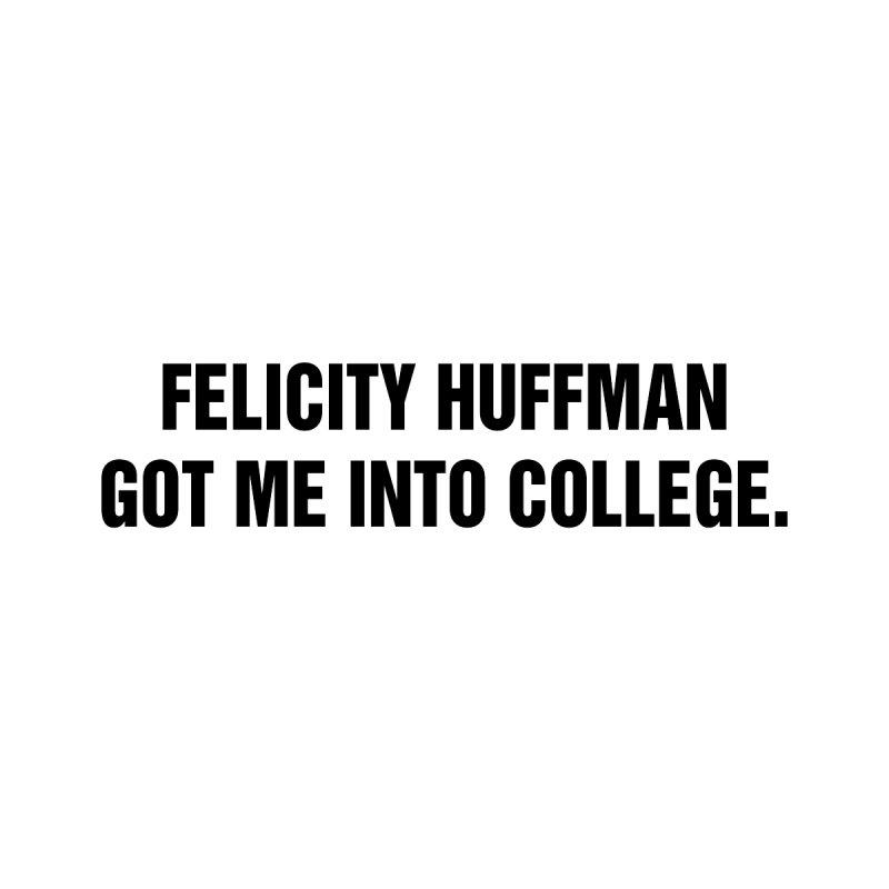 "SIDE EYE/""Felicity Huffman"" (Black) by Josh Sabarra's Shop"