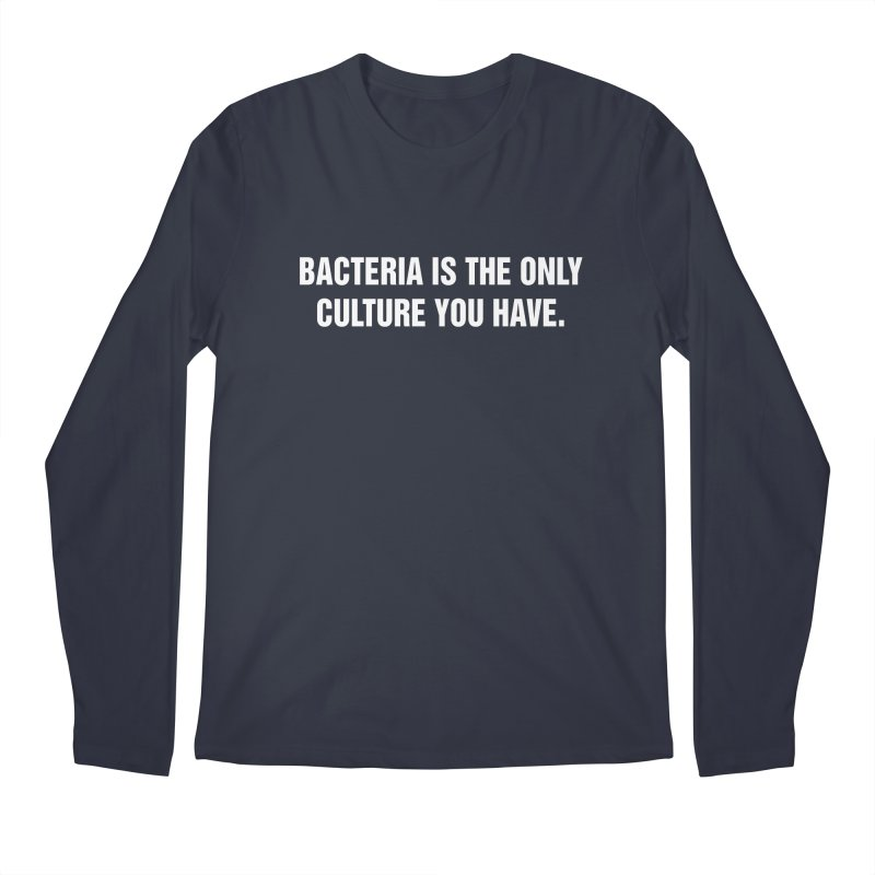 "SIDE EYE/""Bacteria"" (White) Men's Regular Longsleeve T-Shirt by Josh Sabarra's Shop"