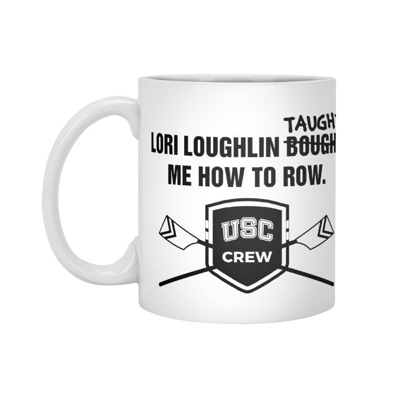"SIDE EYE/""Lori Loughlin Crew"" (Black) Accessories Mug by Josh Sabarra's Shop"