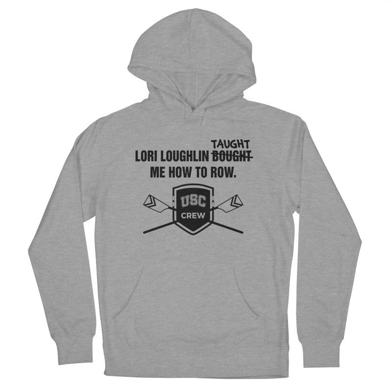 "SIDE EYE/""Lori Loughlin Crew"" (Black) Men's French Terry Pullover Hoody by Josh Sabarra's Shop"