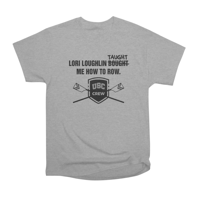 "SIDE EYE/""Lori Loughlin Crew"" (Black) Men's Heavyweight T-Shirt by Josh Sabarra's Shop"