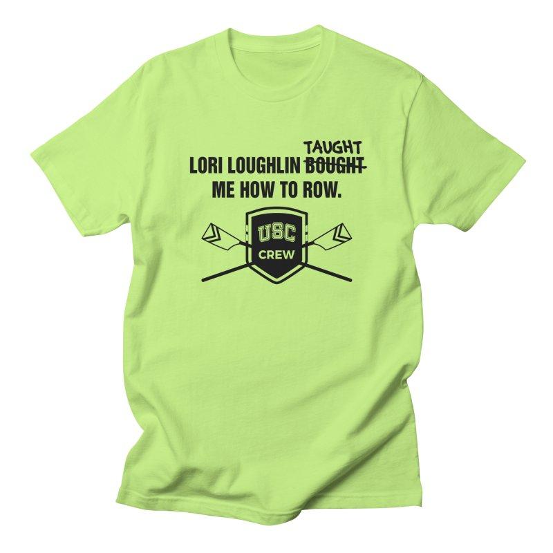 "SIDE EYE/""Lori Loughlin Crew"" (Black) Women's Regular Unisex T-Shirt by Josh Sabarra's Shop"