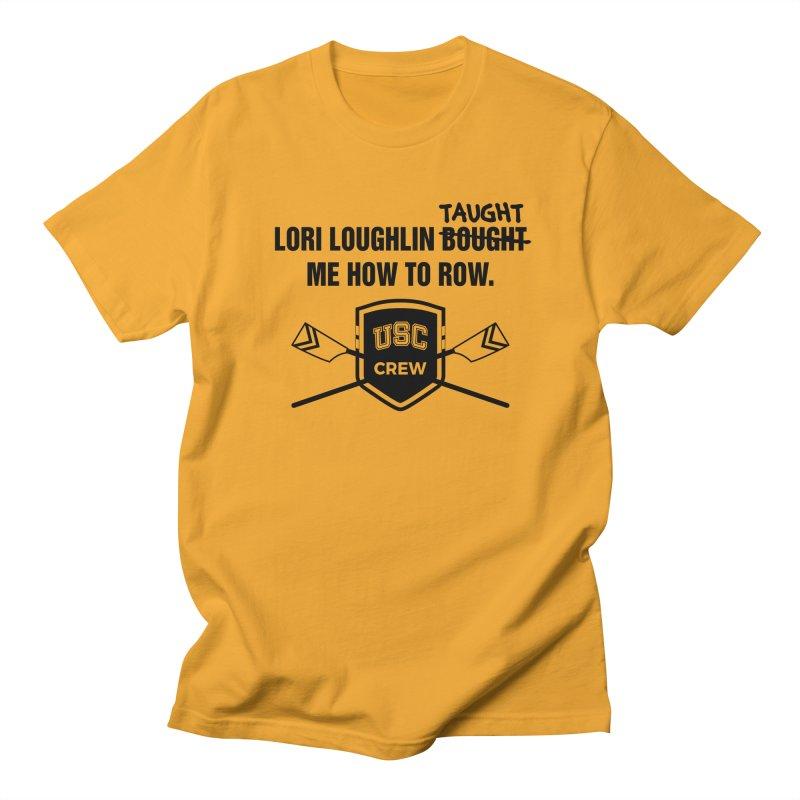 "SIDE EYE/""Lori Loughlin Crew"" (Black) Men's Regular T-Shirt by Josh Sabarra's Shop"