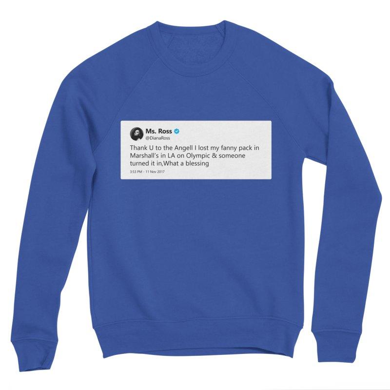 """TweetSHIRT/""""Diana Ross at Marshall's"""" Men's Sponge Fleece Sweatshirt by Josh Sabarra's Shop"""