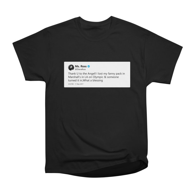 "TweetSHIRT/""Diana Ross at Marshall's"" Men's Heavyweight T-Shirt by Josh Sabarra's Shop"