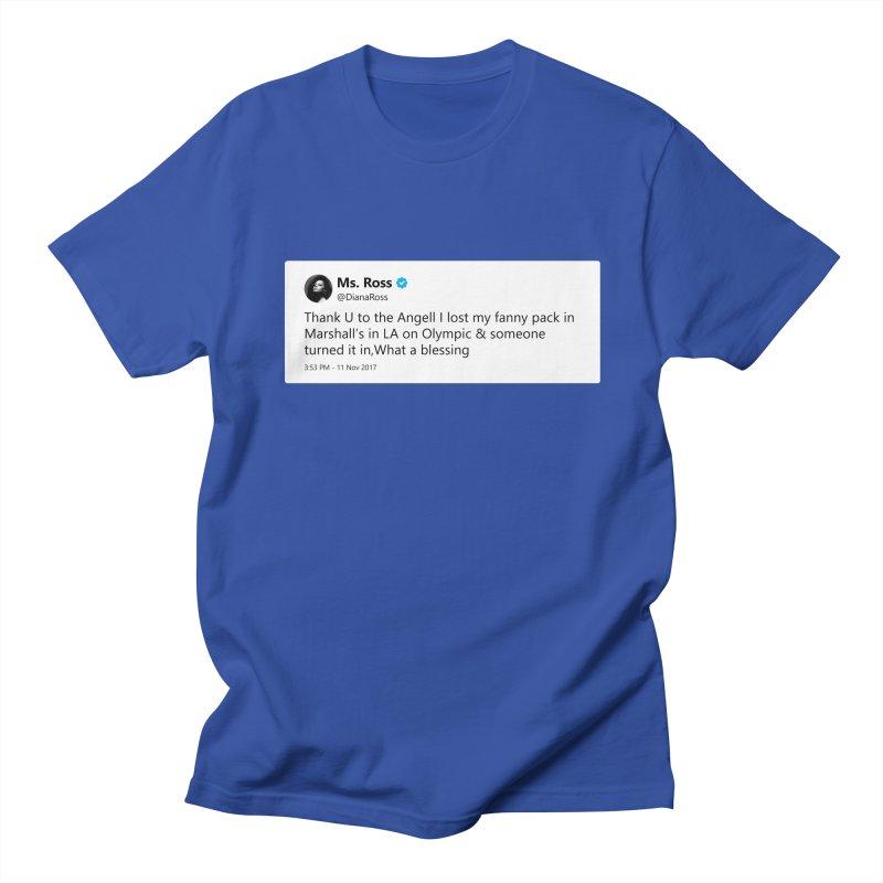 "TweetSHIRT/""Diana Ross at Marshall's"" Women's Regular Unisex T-Shirt by Josh Sabarra's Shop"