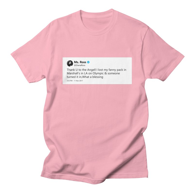 "TweetSHIRT/""Diana Ross at Marshall's"" Men's Regular T-Shirt by Josh Sabarra's Shop"