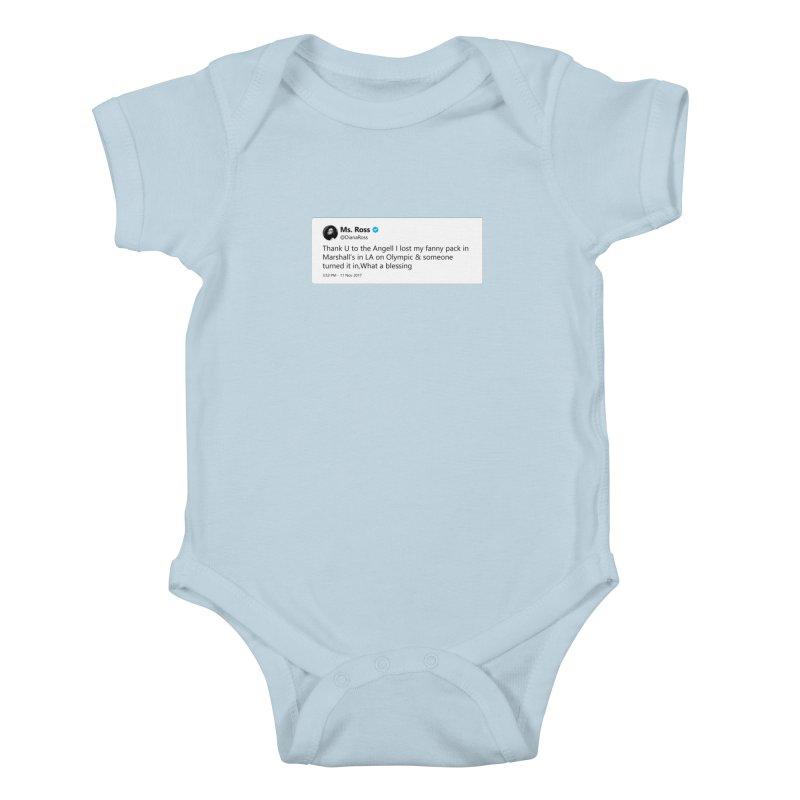 "SIDE EYE/""Diana Ross at Marshall's"" TweetSHIRT Kids Baby Bodysuit by Josh Sabarra's Shop"